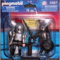 プレイモービル 5887 騎士 Playmobil 5887 Knights Knights duo pack 16 pc