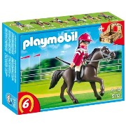 プレイモービル 5112 競走馬と騎手 PLAYMOBIL Arabian Horse with Jockey and Stable