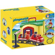 プレイモービル 6783 1.2.3 電車セット PLAYMOBIL 6783 My Take Along Train Playset