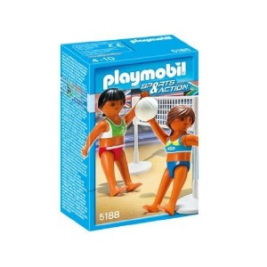 プレイモービル 5188 ビーチバレー Playmobil Sports Beach Vollyball with Net Set