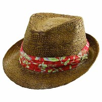 Tommy Bahama Brown Toyo Fedora Hats (#TBW135OS)【ゴルフ ゴルフウェア>帽子】