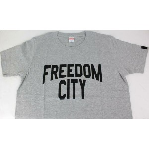 Freedom C.G.R SSP-T-02L FREEDOM CITY T-Shirt MENサイズL