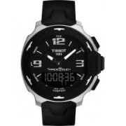 ティソ 腕時計 メンズ 時計 Tissot T-Race Analog Digital Black Rubber Mens Watch T0814201705701