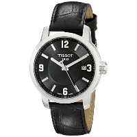 ティソ 腕時計 メンズ 時計 Tissot Men's TIST0554101605700 PRC 200 Analog Display Swiss Quartz Black Watch