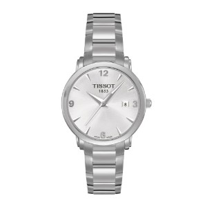 ティソ 腕時計 レディース 時計 Tissot Everytime Silver Dial Ladies Watch T0572101103700