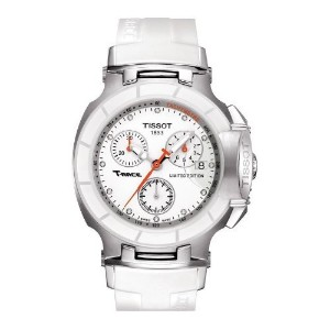 ティソ 腕時計 レディース 時計 Tissot Womens Danica Patrick Limited Edition White Watch T0482172701600