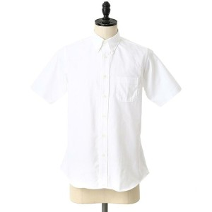 INDIVIDUALIZED SHIRTS(インディビジュアライズド シャツ) / 別注S/S Standard Fit Cambridge OX B.D shirts -MBDM-(シャツ)IDS...