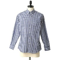 INDIVIDUALIZED SHIRTS(インディビジュアライズド シャツ) / 別注L/S Standard Fit Big Gingham B.D shirts -MBDM-(ボタンダウン...