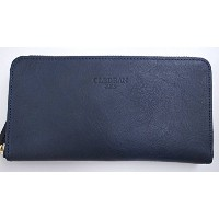 (クレドラン) CLEDRAN CLM-1016 DETOU SERIES LONG WALLET ネイビー