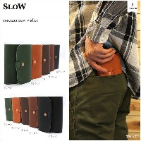 SLOW(スロウ)toscana new wallet 5color トスカーナニューウォレット