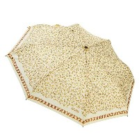 モスキーノ Moschino 傘 311 UMBRELLA MOSCHINO C&C GOLDEN LOGO ALLOVER MIN BEIGE BE【楽ギフ_包装】