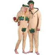 Adult Adam and Eve Costume Set-One size fits most adults アダムとイブ コスチュームセット