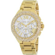 Michael Kors マイケルコース レディース腕時計 Camille Stainless Steel White Dial Women's Watch - MK5756
