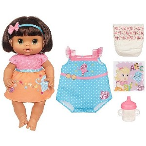 Baby Alive ベビーアライブ 赤ちゃん 人形 フィギュア ドール Baby Alive Dressed for School Doll, 2 Outfits, She Drinks &...