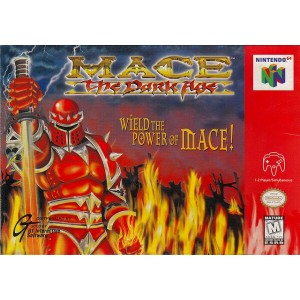 【中古】 N64 北米版 MACE The Dark Age