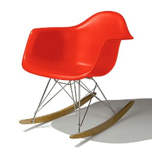 Eames Shell Chair イームズ チェア Arm Chair(RAR) /レッド【smtb-ms】【RCP】.