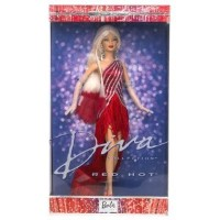 Barbie Diva Collection - Red Hot Diva Collector Edition (2002)