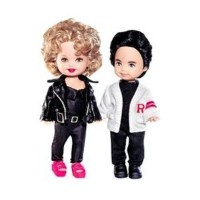"Barbie 4"" Grease Kelly Doll and Tommy Gift Set - Pink Label Collection"