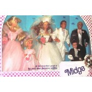 Barbie(バービー) Wedding Party MIDGE Gift Set (ギフトセット) w 6 Dolls: Barbie(バービー), Ken, Mid