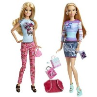 Barbie(バービー) Life in the Dreamhouse Barbie(バービー) and Summer Doll 2-Pack ドール 人形 フィギ