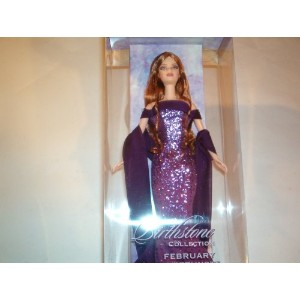 Barbie バービー Birthstone Collection, February / Amethyst 人形 ドール