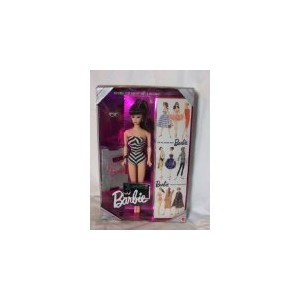 Original 1959 Barbie バービー Doll & Package - Special Edition Reproduction - 35th Anniversary Bar