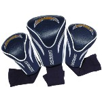 NFL San Diego Chargers 3 Pack Contour Fit Headcovers