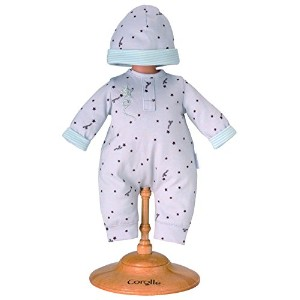 "コロール ドールファッション Corolle 14"" Grey Star Baby Doll Pajamas and Cap"