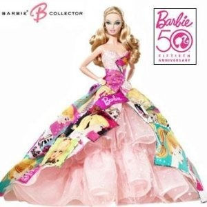 Barbie(バービー) Generations of Dreams Collectors 50th Anniversary Commemorative Doll ドール 人形
