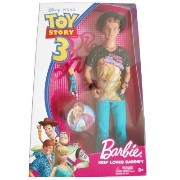 Disney ディズニー / Pixar Toy Story 3 トイストーリー3 Barbie バービー Doll Ken Loves Barbie バービ