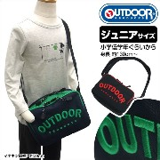 【 OUTDOOR PRODUCTS 】ジュニア 用:立体ロゴ刺繍 ショルダーバッグ / OUT-0184【ポイント5倍】【立体刺繍】【送料無...