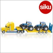 <ボーネルンド>Siku(ジク)社輸入ミニカー1805 Truck with new holland tracks