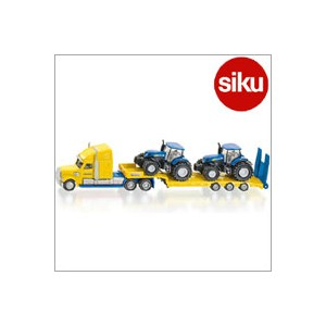 <ボーネルンド> Siku(ジク)社輸入ミニカー1805 Truck with new holland tracks