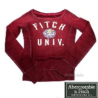 Abercrombie & Fitch アバクロ レディース トレーナー1525140056053【RCP】【はこぽす対応商品】【コンビニ受取対応商品...