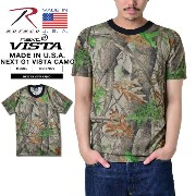 ROTHCO ロスコ 67000 MADE IN U.S.A. NEXT G1 VISTA CAMO トレーニング用Tシャツ《WIP》ミリタリー 男性 春 ギフト プレゼント