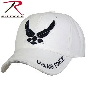 【今だけ20%OFF】ROTHCO ロスコ Deluxe U.S. Air Force Wing Low Profile Cap White 【9154】《WIP》 ミリタリー 男性 ギフト...