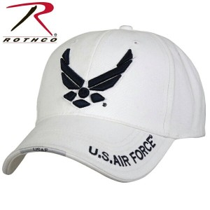 ROTHCO ロスコ Deluxe U.S. Air Force Wing Low Profile Cap White 【9154】《WIP》 ミリタリー 男性 ギフト プレゼント