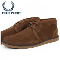 W セール フレッドペリー Fred Perry シューズ スニーカー Claxton Mid Suede フレッドペリー ギフト