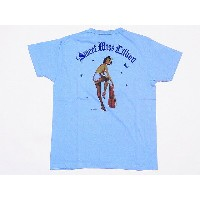 Buzz Rickson's[バズリクソンズ] Tシャツ SWEET MISS LILLIAN BR77059 GIL ELVGREN COLLECTION (L.BLUE)