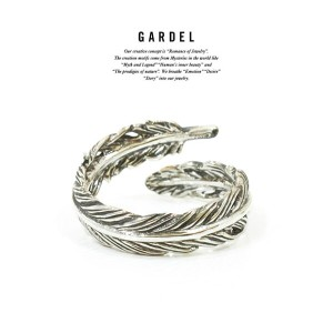 GARDEL ガーデル gdr077 NATURAL FEATHER RING PINKY RING/リング/Feather/フェザーSilver925/シルバーメンズ/レディースアクセサリー...