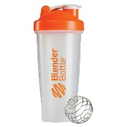 Blender Bottle(ブレンダーボトル) Classic Clear(クラシッククリア) 28オンス(800ml) BBCL28 OR オレンジ【ポイント10倍】