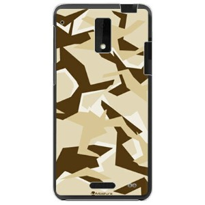 【送料無料】 URBAN camouflage サンド (クリア) design by Moisture / for HTC J ISW13HT/au 【SECOND SKIN】au isw13ht...