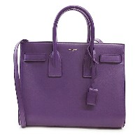 サンローラン パリ バッグ 2WAYバッグ SAINT LAURENT PARIS 355153 BOO0J 5022 PURPLE 【SAC DE JOUR MINI】