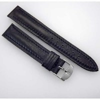 ハミルトン レザー ストラップ バンド HAMILTON Vintage New Stock 18mm Navy Blue Leather Replacement Watch Strap /...