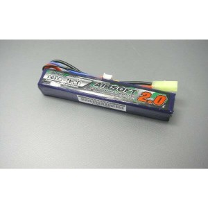 S電動ガンTurnigy nano-tech 7.4V 2000mAh 15C25Cリポ