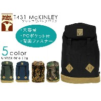 OUTDOOR PRODUCTS McKINLY T431 大容量 リュック アウトドア リュック アウトドアプロダクツ メンズ レディース リュックサック バックパック 黒 紺 迷彩 あす楽...