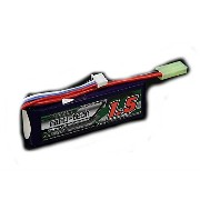 S電動ガンTurnigy nano-tech 11.1V 1500mAh 20C40Cリポ です。