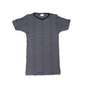 MILLER(ミラー)/PAN-C S/S border tee/thin navy x white