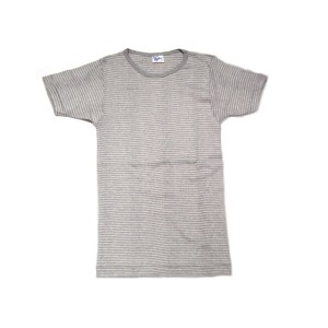 MILLER(ミラー)/PAN-C S/S border tee/thin grey x white