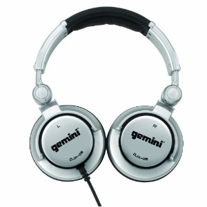 Gemini DJX-05 オーバー-Ear Professional DJ Headphones 『海外取寄せ品』
